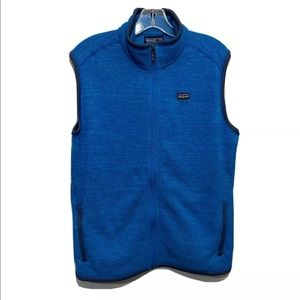 Patagonia Better Sweater Blue Vest Zip Up